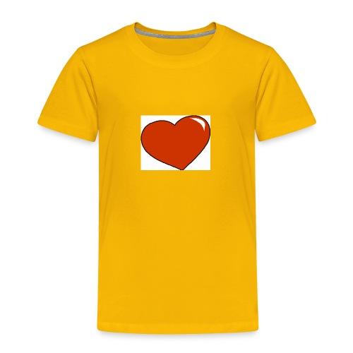 HEART - Toddler Premium T-Shirt