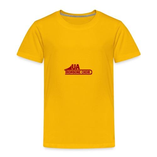 UA_trombonechoirCrimson - Toddler Premium T-Shirt