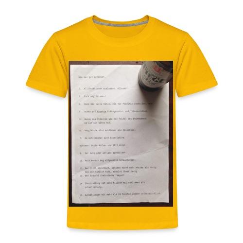 copywriting - Toddler Premium T-Shirt