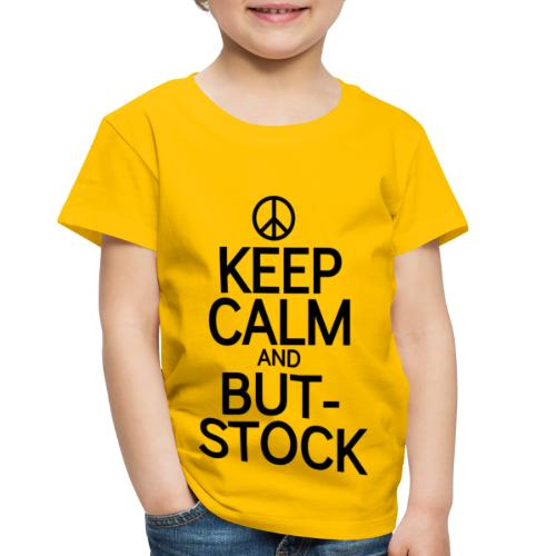 Keep But blk peace sign - Toddler Premium T-Shirt