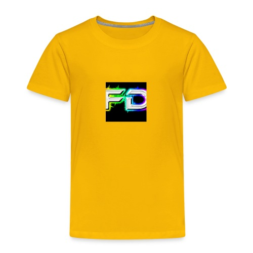 Fares destroyer official merchandise - Toddler Premium T-Shirt