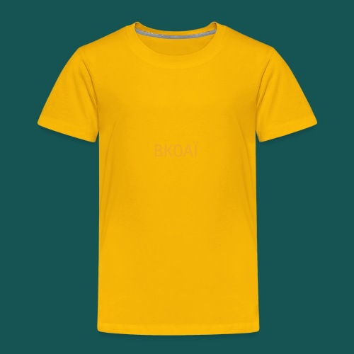 BK0AI - Orange Logo - Toddler Premium T-Shirt
