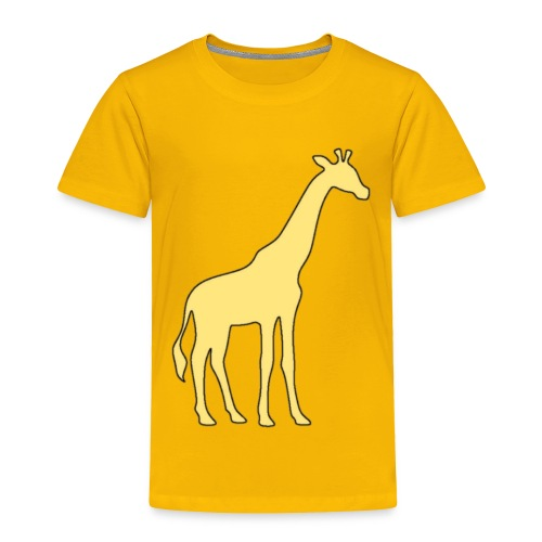 yellow giraffe - Toddler Premium T-Shirt