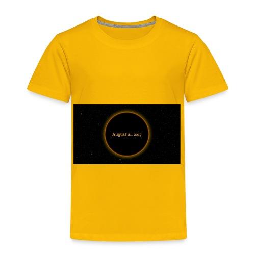Solar Eclipse - Toddler Premium T-Shirt