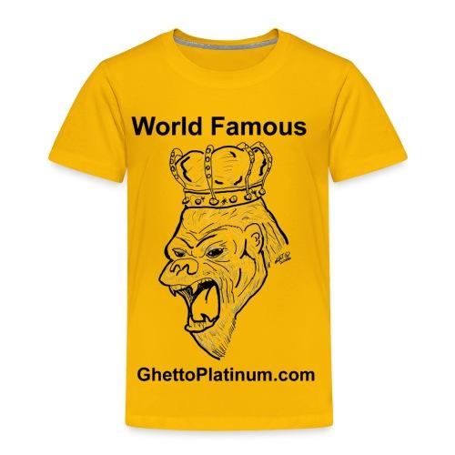 T-shirt-worldfamousForilla2tight - Toddler Premium T-Shirt