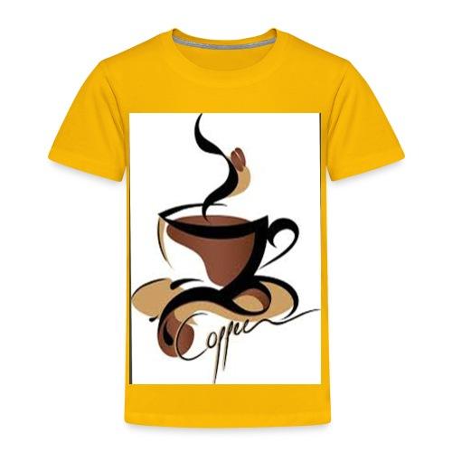 Coffee Lovers - Toddler Premium T-Shirt