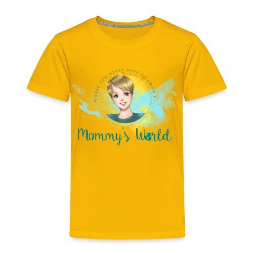 Mommys World Alternate Logo - Toddler Premium T-Shirt