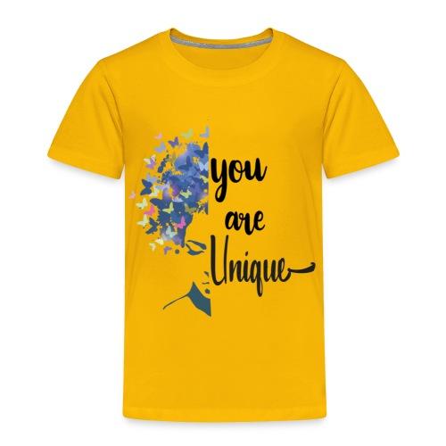 you are unique - Toddler Premium T-Shirt