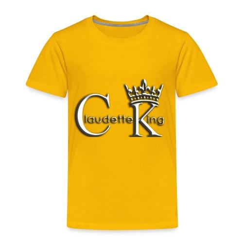 Claudett Blues King - Toddler Premium T-Shirt