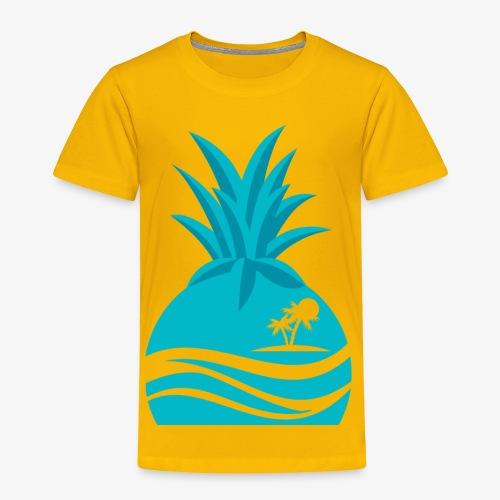 Island Pineapple - Toddler Premium T-Shirt