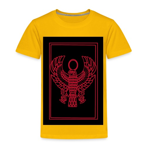 Heru- Horus (Ancient Mystery School KMT) - Toddler Premium T-Shirt