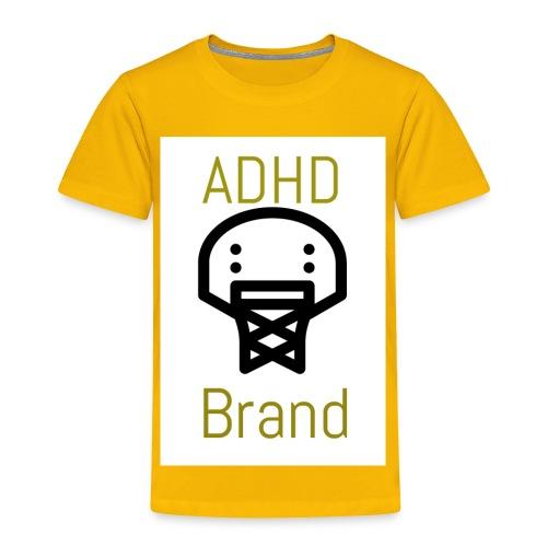 ADHD BRAND - Toddler Premium T-Shirt