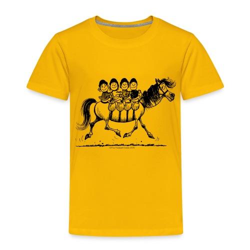 Gang of four Thelwell Cartoon - Toddler Premium T-Shirt