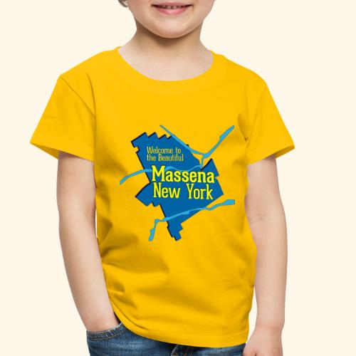 Massena NY Blue - Toddler Premium T-Shirt