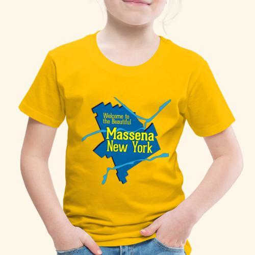 Massena NY Blue - Toddler Premium T-Shirt