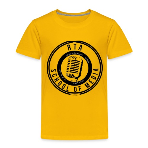 RTA School of Media Classic Look - Toddler Premium T-Shirt