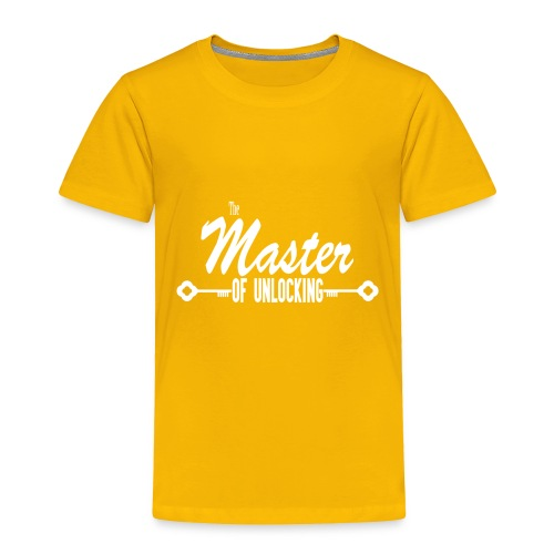 The Master of Unlocking (Alt) - Toddler Premium T-Shirt