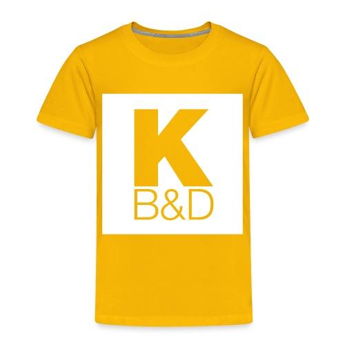 KBD_White - Toddler Premium T-Shirt