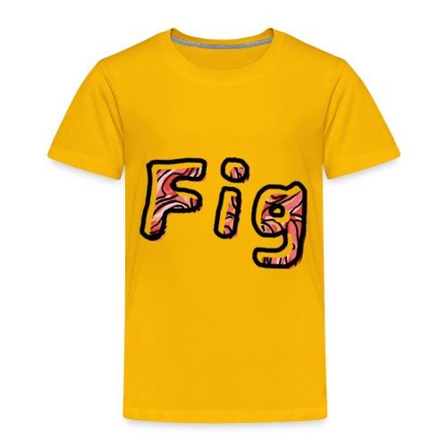Fig Logo - Toddler Premium T-Shirt