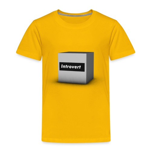 Box Logo - Toddler Premium T-Shirt