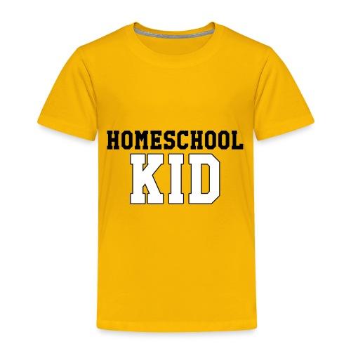 homeschoolkid - Toddler Premium T-Shirt
