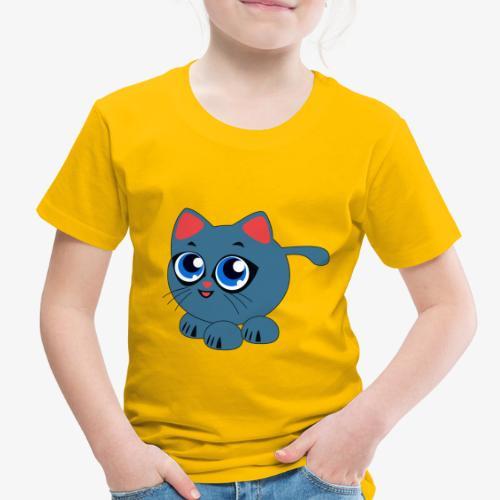 Baby Cat Funny - Toddler Premium T-Shirt
