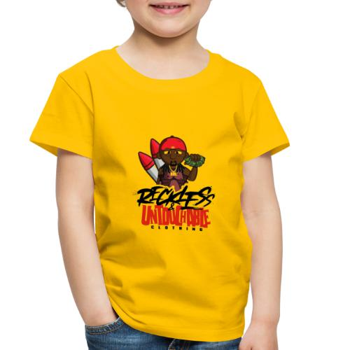 Reckless and Untouchable_1 - Toddler Premium T-Shirt
