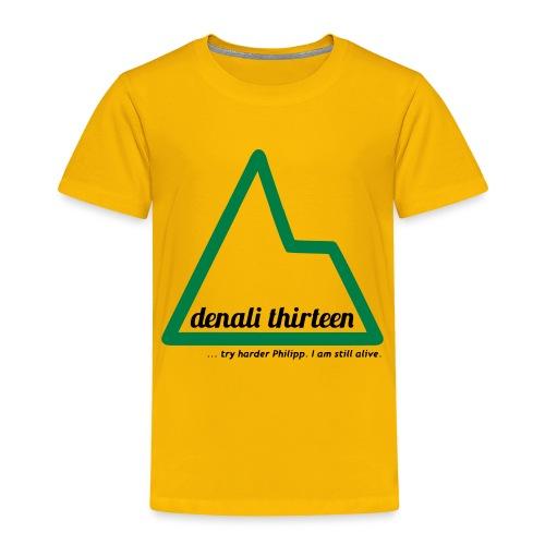 Denali 13 - Toddler Premium T-Shirt