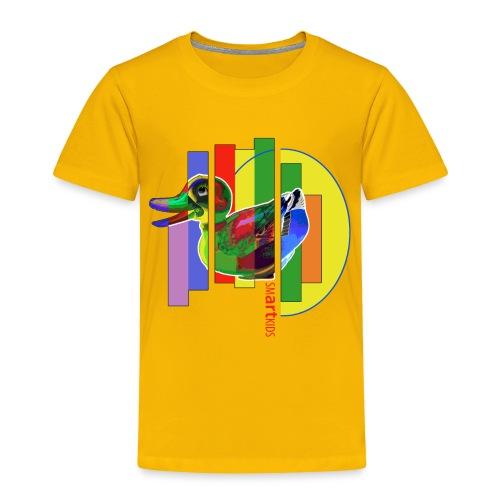smARTkids - Gutsy Duck - Toddler Premium T-Shirt