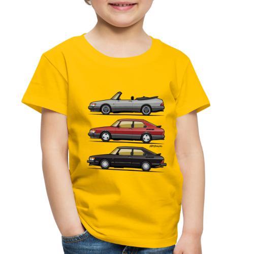 Saab 900 Turbo Trio - Toddler Premium T-Shirt
