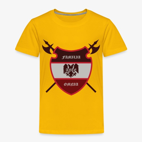 House Pendragon Crest - Family Before All - Toddler Premium T-Shirt