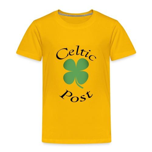 Celtic Post Shamrock - Toddler Premium T-Shirt
