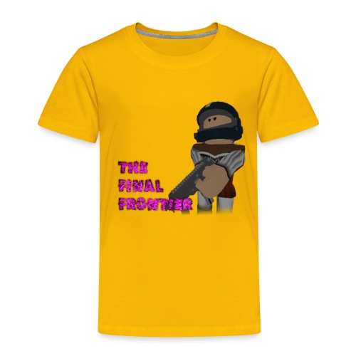 The Final Frontier - Toddler Premium T-Shirt