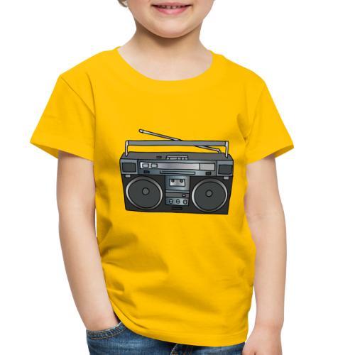 Boombox - Toddler Premium T-Shirt
