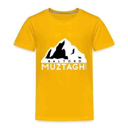 Baltoro_Muztagh_White - Toddler Premium T-Shirt