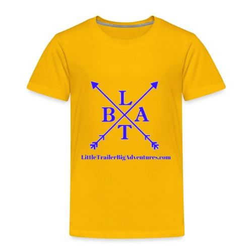 Blue LTBA Logo - Toddler Premium T-Shirt
