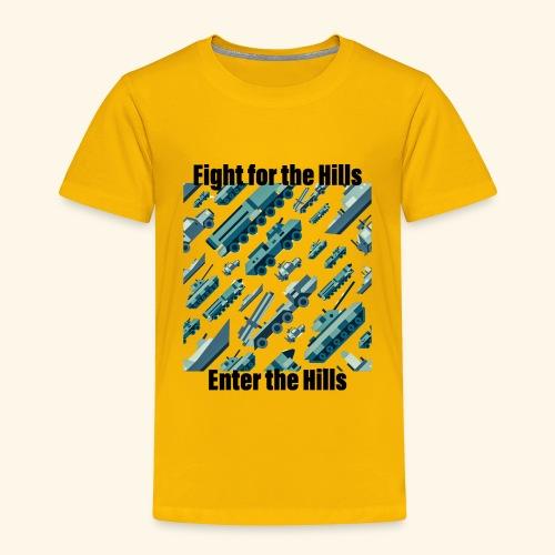 Fight or Enter - Toddler Premium T-Shirt