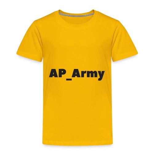 AP_Army hoddies - Toddler Premium T-Shirt
