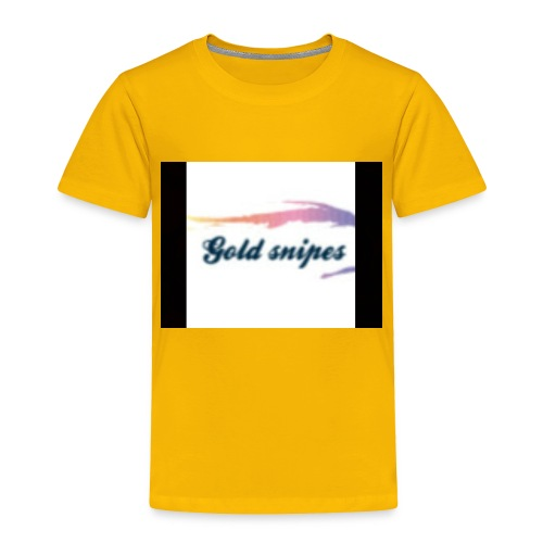Kids Gold snipes Tshirt - Toddler Premium T-Shirt
