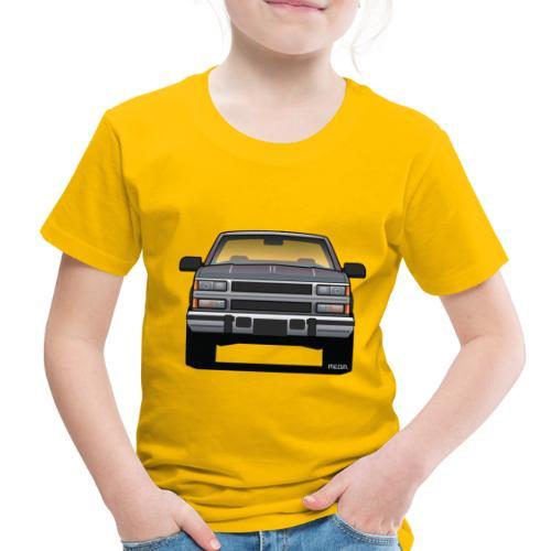 Design Icon: American Bowtie Silver Urban Truck - Toddler Premium T-Shirt