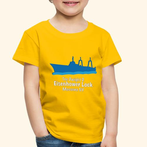 Eisenhower Lock Blue - Toddler Premium T-Shirt