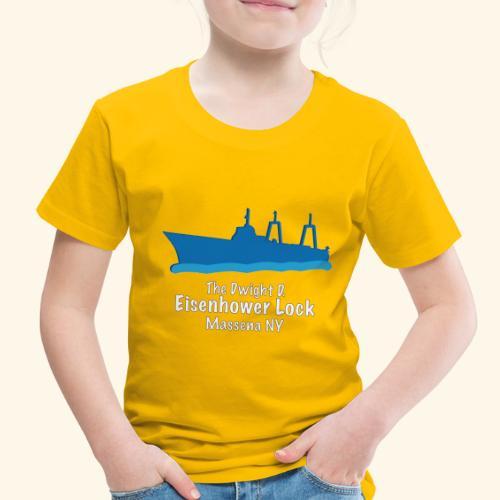 Eisenhower Lock Blue - Toddler Premium T-Shirt