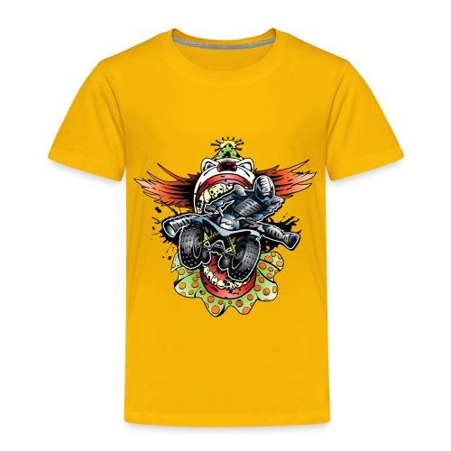 Clownin' Quad Rider - Toddler Premium T-Shirt