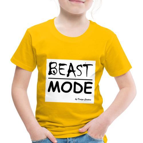 MODE, BEAST-BLACK - Toddler Premium T-Shirt