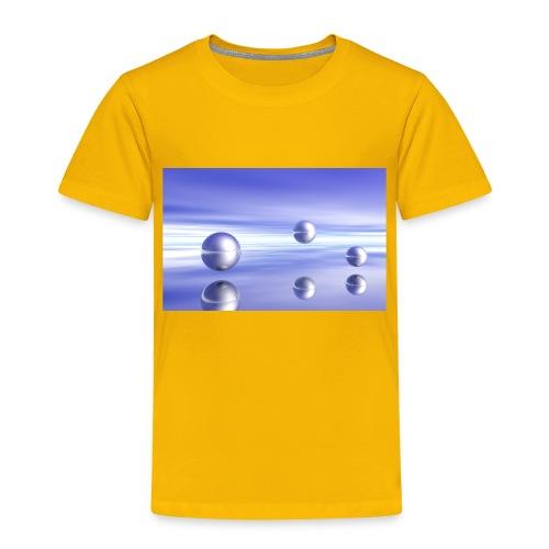 Ball Landscape in 3D - Toddler Premium T-Shirt