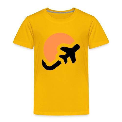 Airplane logo Icons Symbols Gift Shirt - Toddler Premium T-Shirt