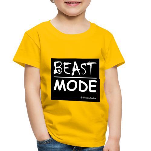 MODE, BEAST-WHITE - Toddler Premium T-Shirt
