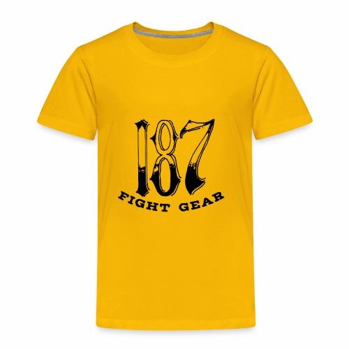 Trevor Loomes 187 Fight Gear Logo Best Sellers - Toddler Premium T-Shirt