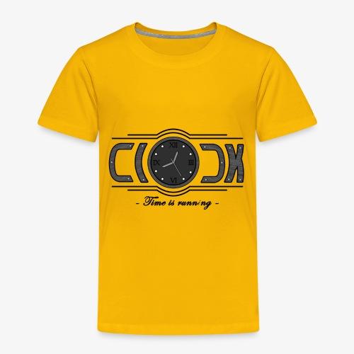 Clock - Time is running - Toddler Premium T-Shirt