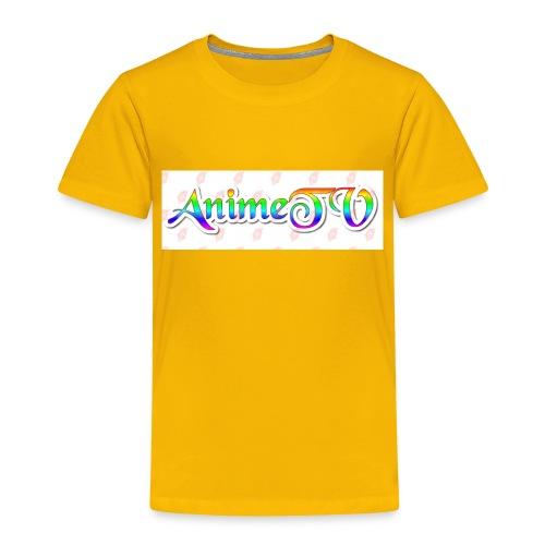 AnimeTV Fan T-Shirt - Toddler Premium T-Shirt
